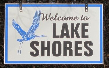 lake shores sign